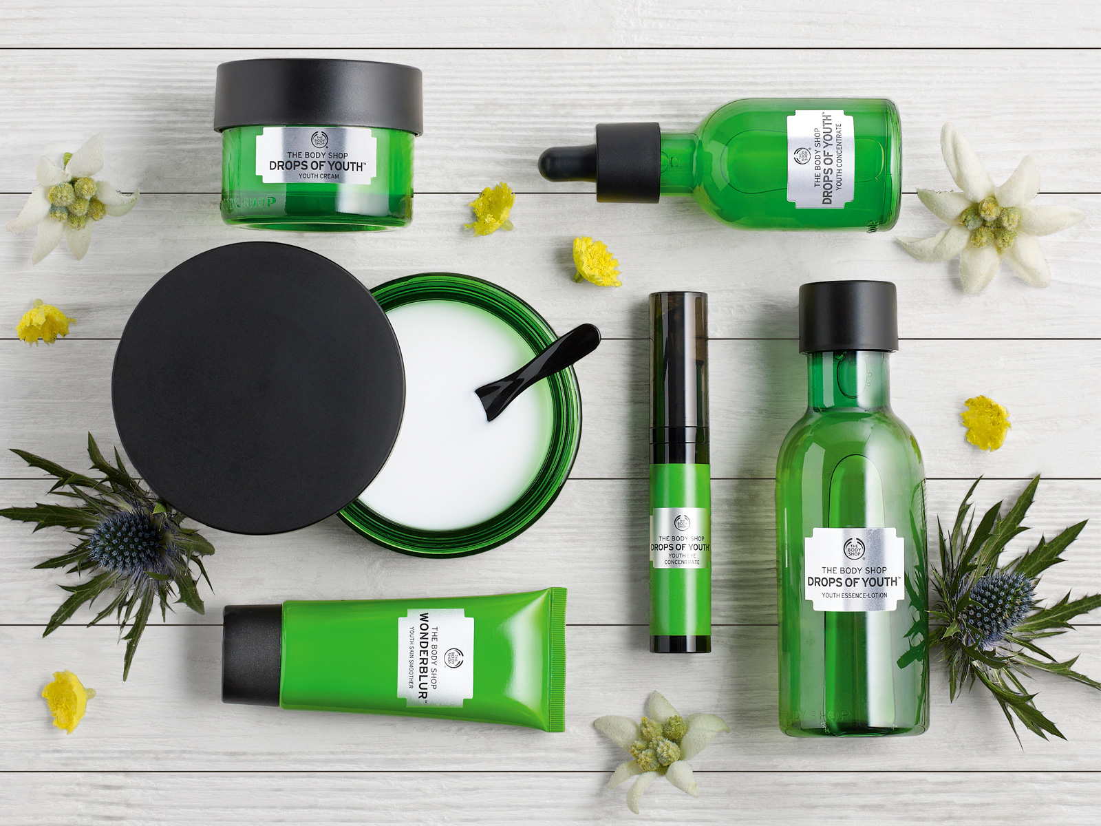 50% Off on Skin Care Products @Thebodyshop