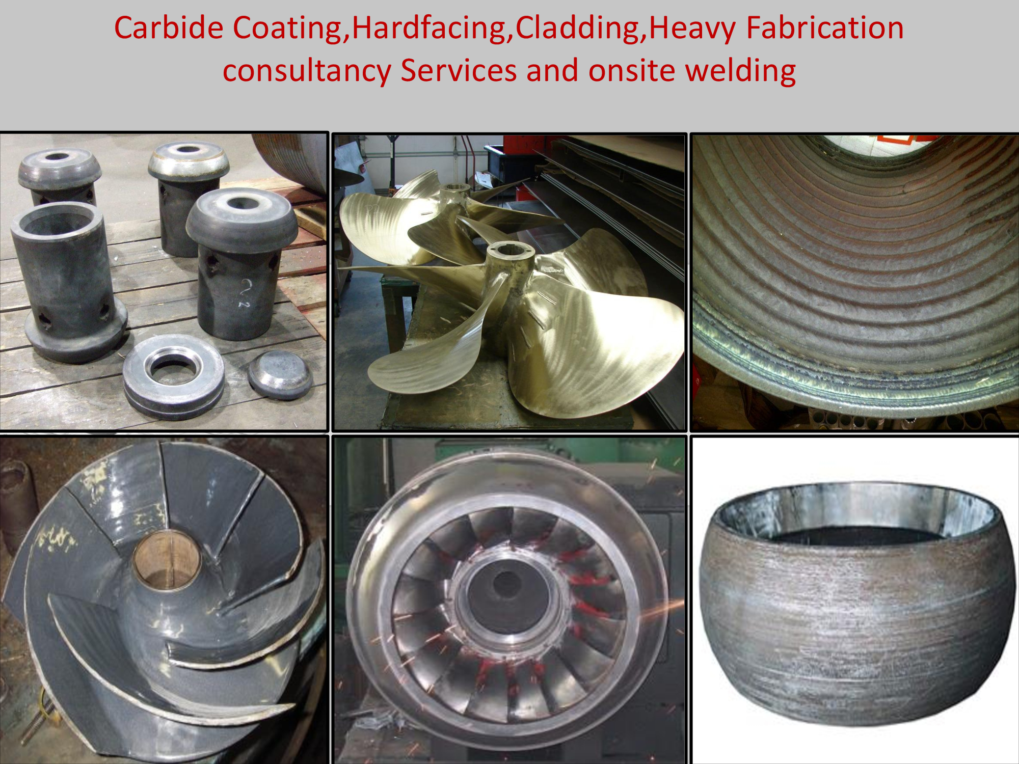 consultant for welding,hardfacing,heavy fabrication,site welding,hardf
