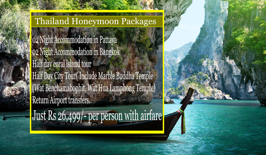 Get Thailand Tour Packages at Affordable Prices