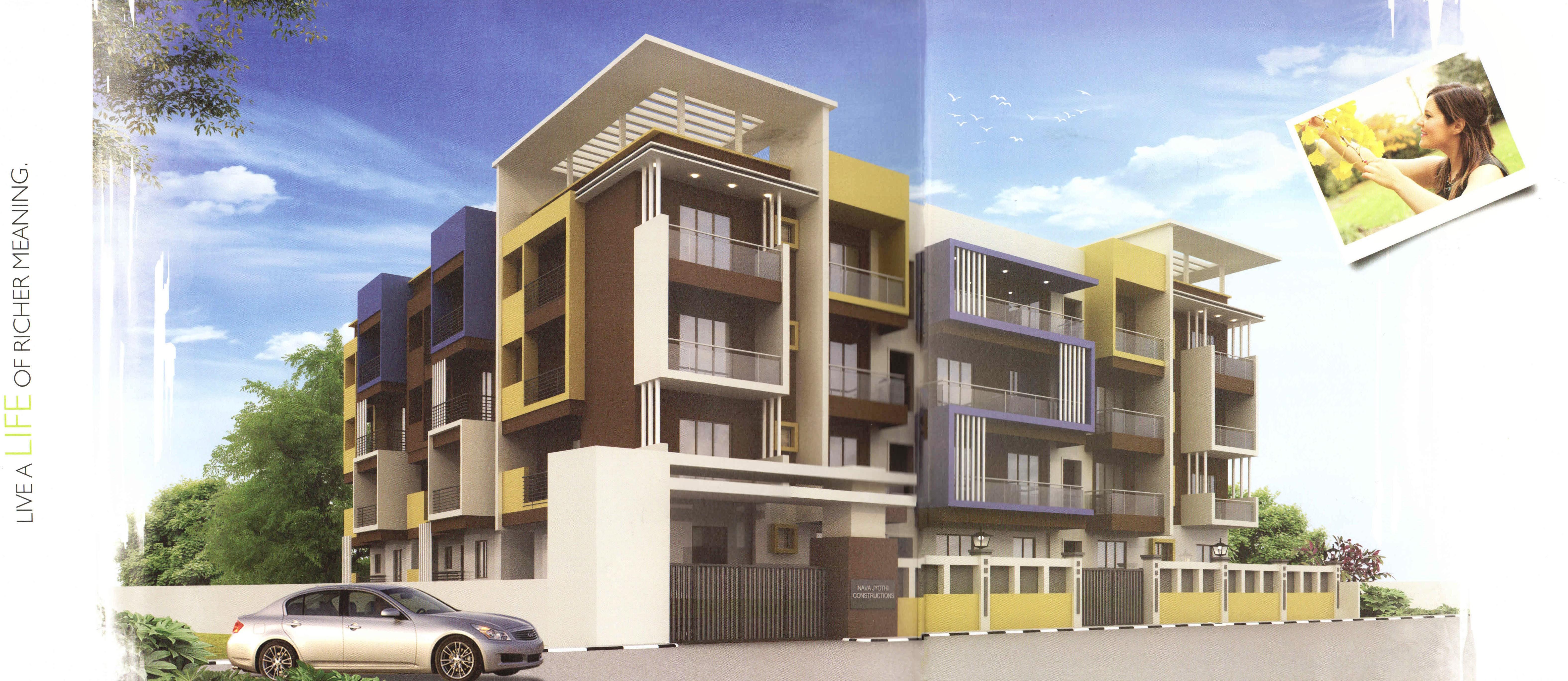 2 BHK flats for sales in Doddanekkundi