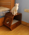 Innovative Wood Art Pet Furniture