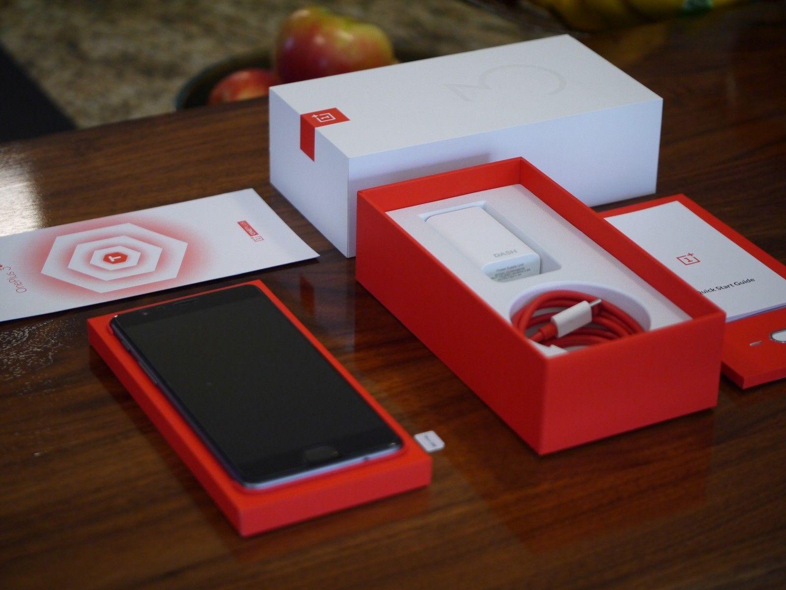OnePlus 3T  64GB Gunmetal New Sealed Box With Invoice