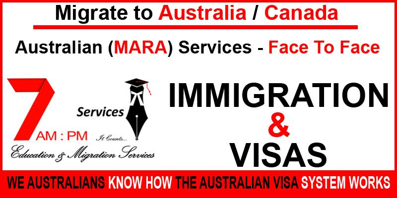 Migrate to Australia OR Canada - Face to Face MARA Agent Service
