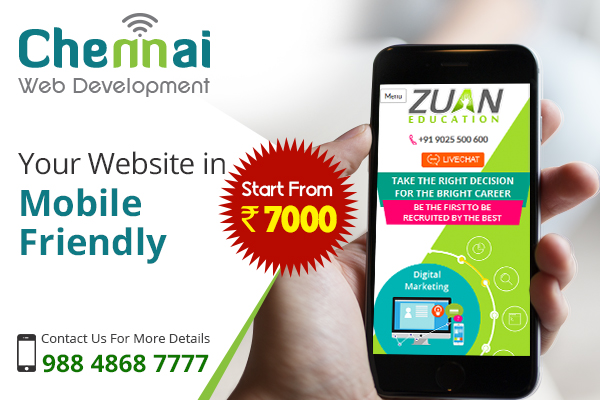 Responsive Website Design for Your Business – Call 9884868777
