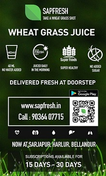 Sapfresh - Wheat grass juice delivered at your doorstep
