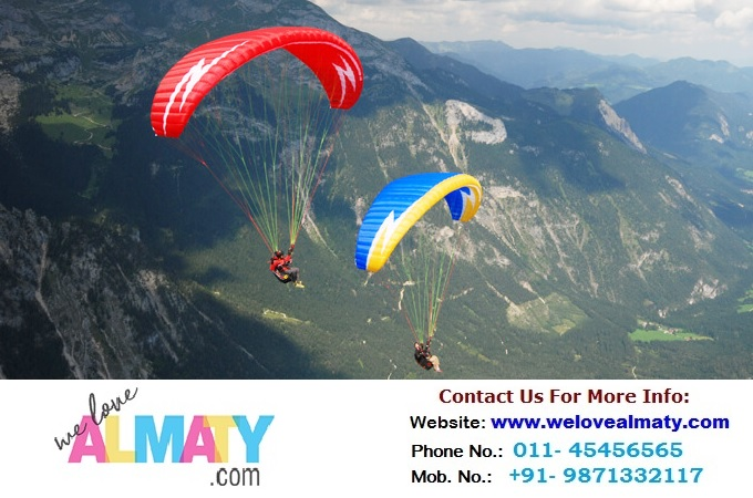 Enjoy the freedom of Paragliding in Almaty
