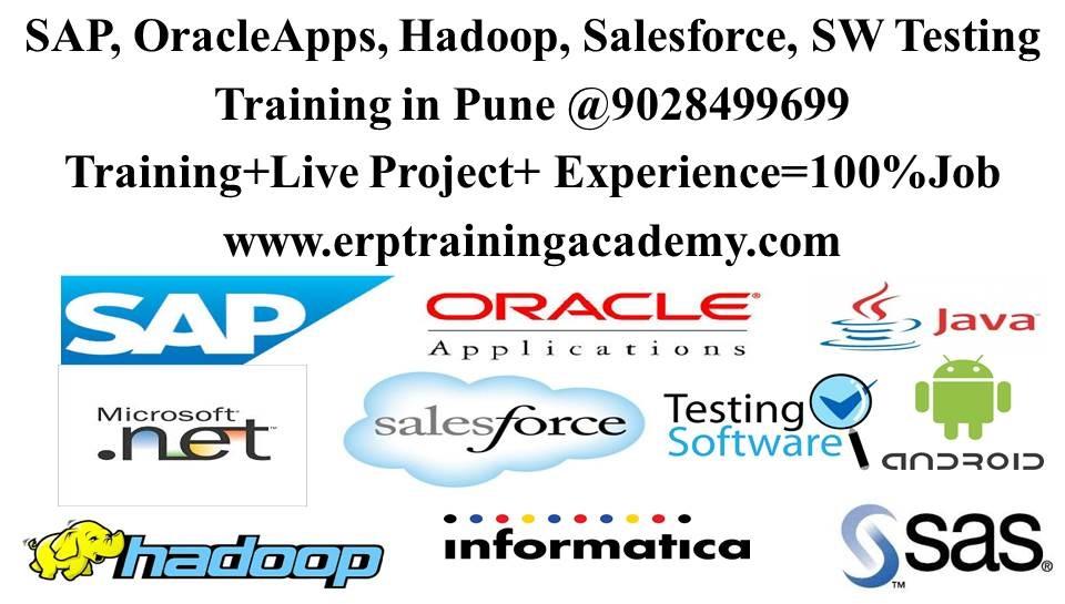 SAP, Oracle Apps, Hadoop, JAVA, .NET Training in Pune @9028499699