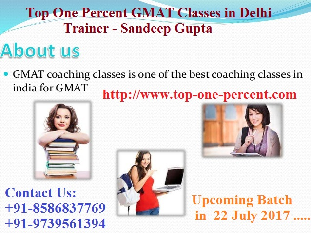 Best/Top GMAT Institute in Delhi,India